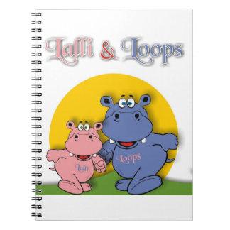 Lalli & loop memo pad notebook