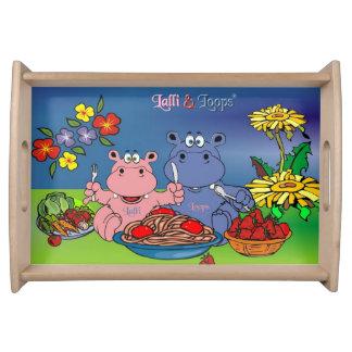 Lalli & loop tray