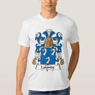 Lalonde Family Crest T Shirt