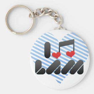 Lam fan keychains