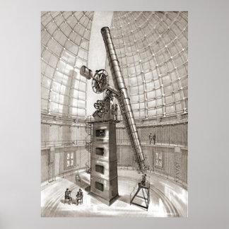 Lama el telescopio 1889 impresiones