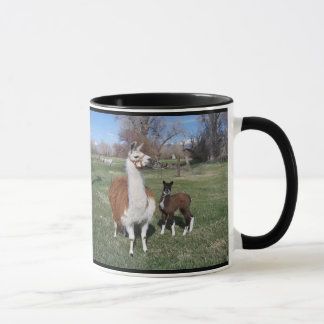 Lama Mama and Llama Baby Mug