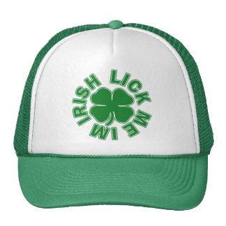 Lámame el irlandés Im Gorros