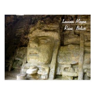 Lamanai Mayan Ruins, Belize Postcard
