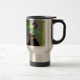 Lamancha Goat 15 Oz Stainless Steel Travel Mug