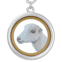 LaMancha Goat  Necklace