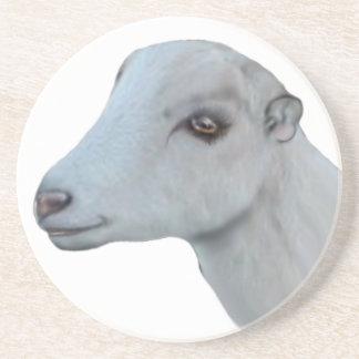 LaMancha Goat Sandstone Coaster