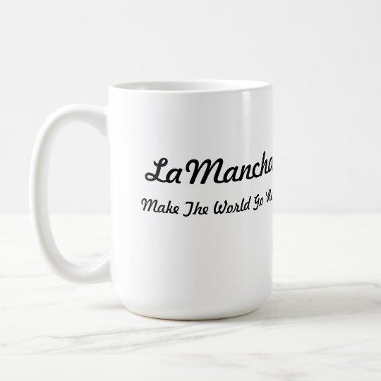 LaMancha Head in Heart Coffee Mug