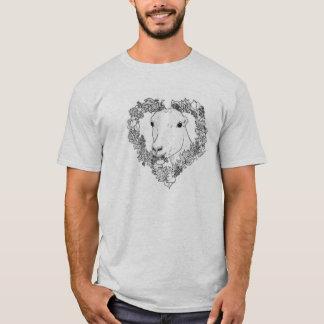 LaMancha Head in Heart (Full Spread) T-Shirt