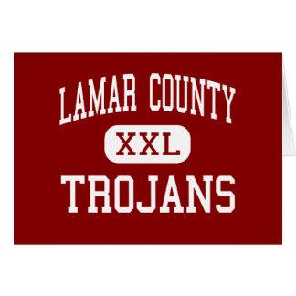 Lamar County - Trojans - Barnesville Cards