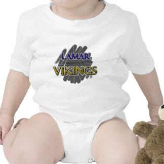Lamar High School Vikings - Arlington, TX Baby Bodysuits