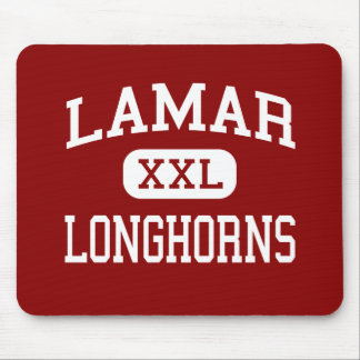 Lamar - Longhorns - Middle - Flower Mound Texas Mouse Pad