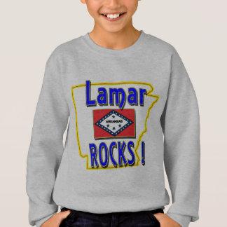 Lamar Rocks ! (blue) Sweatshirt