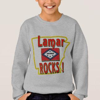 Lamar Rocks ! (red) Sweatshirt