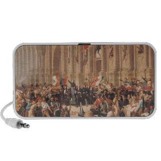 Lamartine rechaza la bandera roja en 1848 laptop altavoces