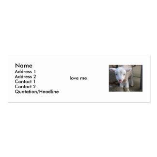 lamb1280x1024, Name, Address 1, Address 2, Cont... Business Card