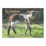 Lamb 2012: SusannaDuffy 5x7 Paper Invitation Card