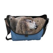 Lamb and Sheep Courier Bag