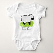 Lamb Baby Bodysuit