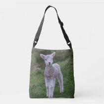 Lamb Baby Sheep Farm Animal Crossbody Bag
