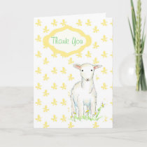 Lamb Baby Shower Gift Thank You