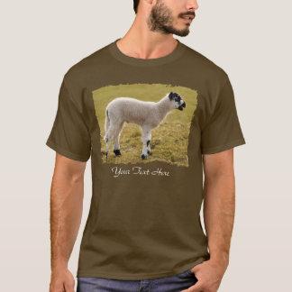 Lamb Bleating Cute Black White Baby Sheep T-Shirt
