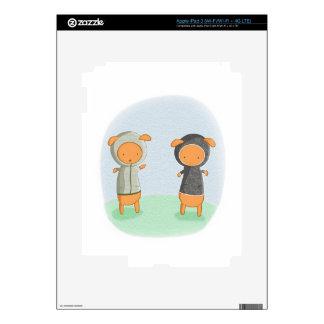 Lamb Carrots! Decals For iPad 3