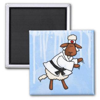 lamb chop 2 inch square magnet