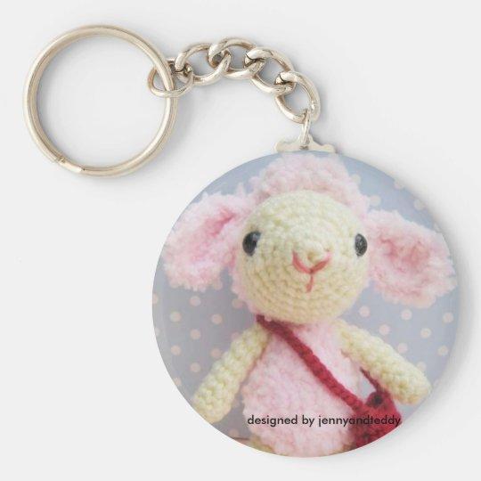 lamb designed by jennyandteddy keychain