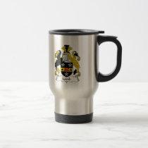 Lamb Family Crest Mug