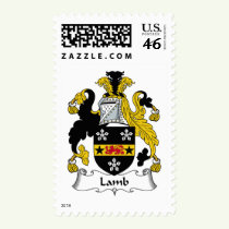 Lamb Family Crest Stamps
