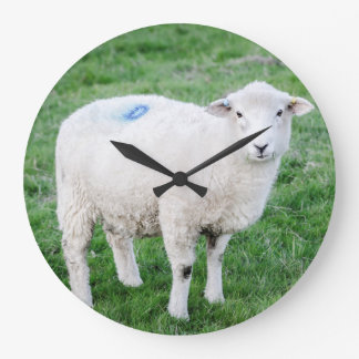 Lamb Large Clock