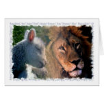 Lamb & Lion Card