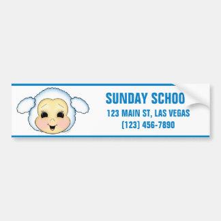 Lamb of God Car Bumper Sticker