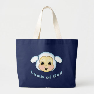 Lamb of God Large Tote Bag