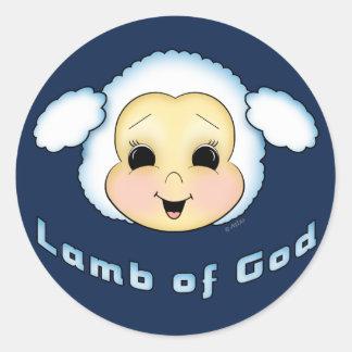 Lamb of God Classic Round Sticker