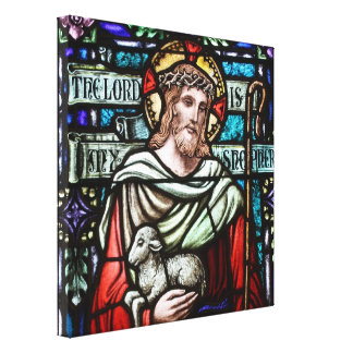 Lamb of God Wrapped Canvas