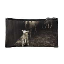 Lamb on the Run Makeup Bag