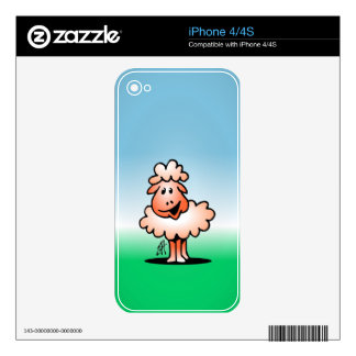 Lamb - sheep skin for the iPhone 4