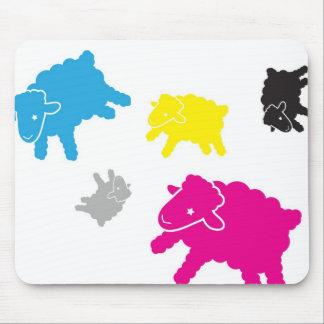 Lamb Starr Multicolor Mousepad