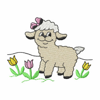 Lamb with Flowers