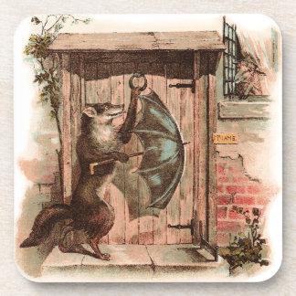 Lamb Won't Let Wolf Enter Coaster