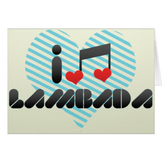 Lambada Cards