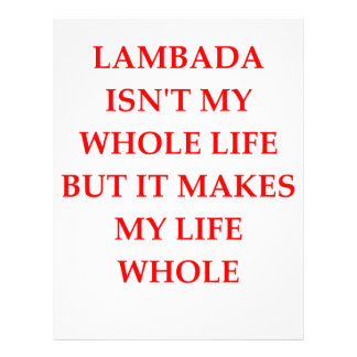 lambada letterhead template