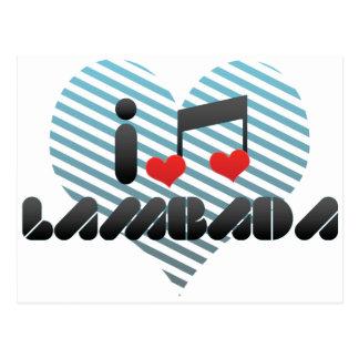 Lambada Post Cards