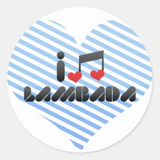 Lambada Sticker