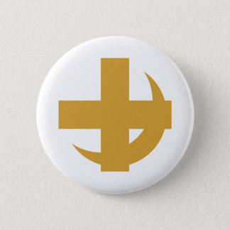 Lambda Chi Alpha Cross & Crescent Button