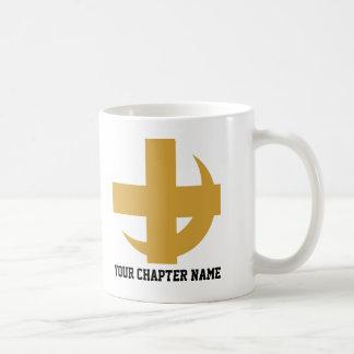 Lambda Chi Alpha Cross & Crescent Coffee Mug