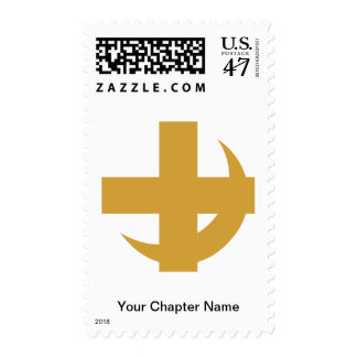 Lambda Chi Alpha Cross & Crescent Postage