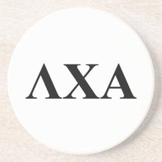 Lambda Chi Alpha Letters Sandstone Coaster